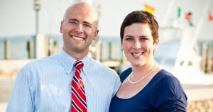 Founders Julia and Peter Saulino